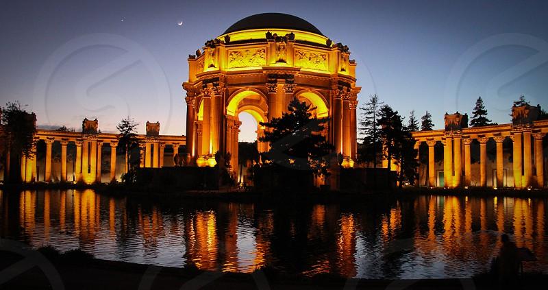 Palace of Fine Arts San Francisco photo