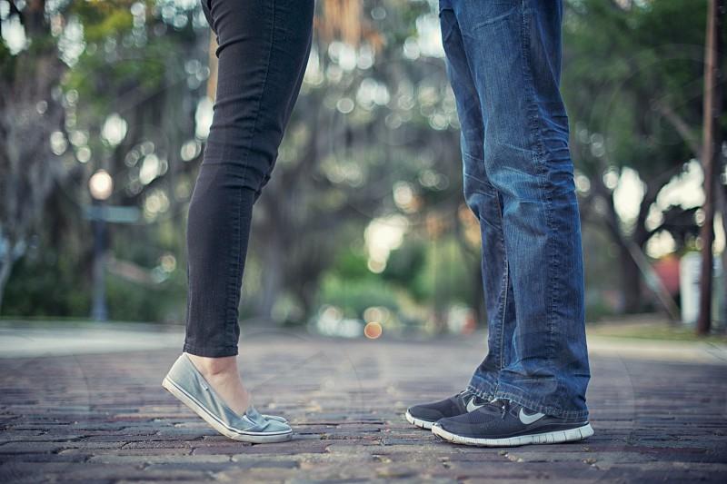 black nike shoes photo
