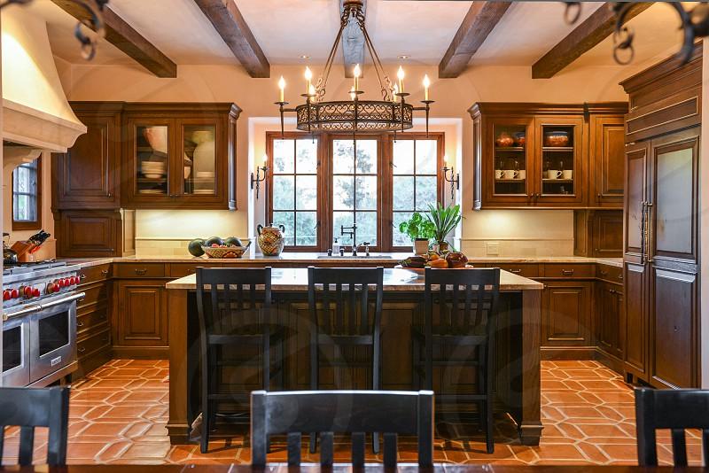 home design decor interior window wood house kitchen photo