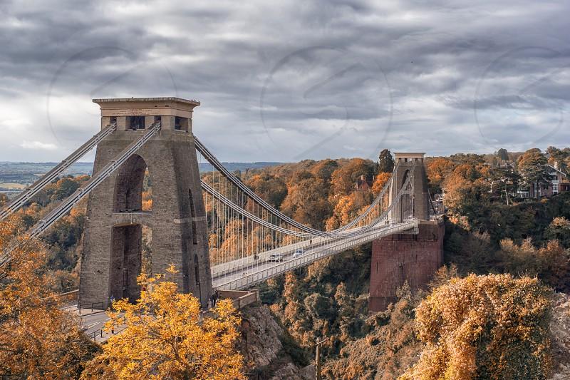 Clifton Suspension Bridge near Bristol. photo