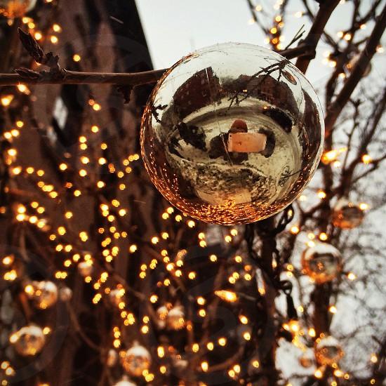 West village Christmas.  photo