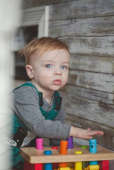 Colors vibrant boy baby cute photo