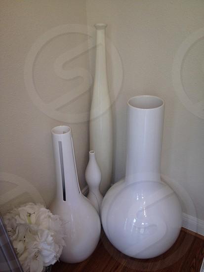 Modern vases photo