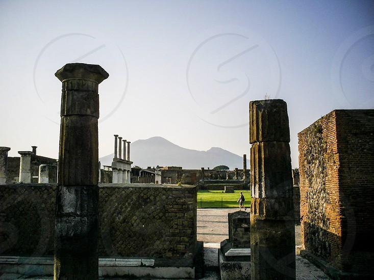 Archaeological digs in Pompeii -Pompeii Italy photo