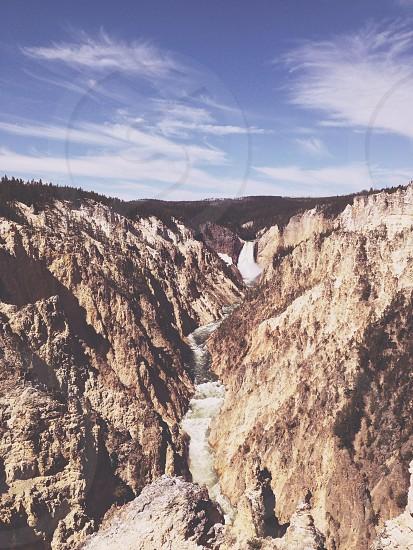 Yellowstone. VSCO T3 Moody photo
