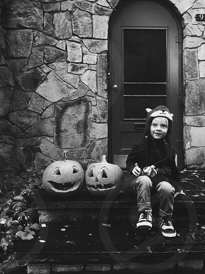 Bnw Halloween  photo