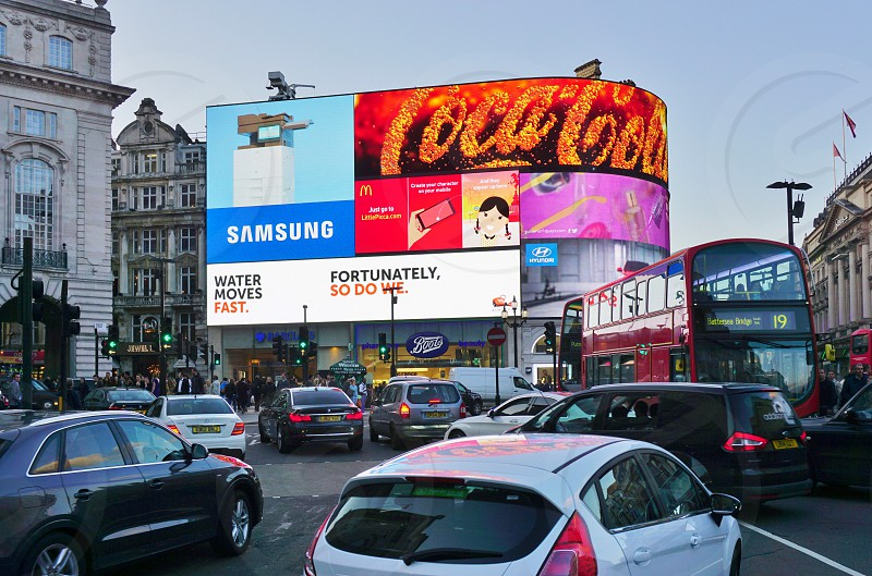 Piccadilly Circus - London England photo