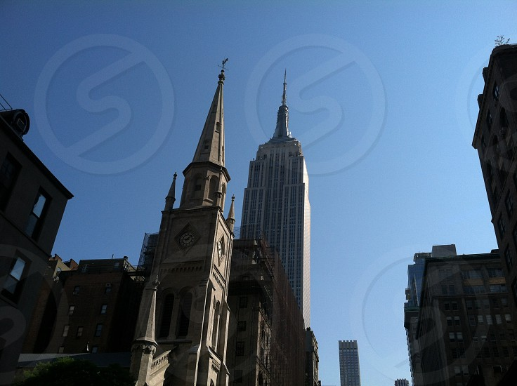 Nyc New York architecture church landscape  photo