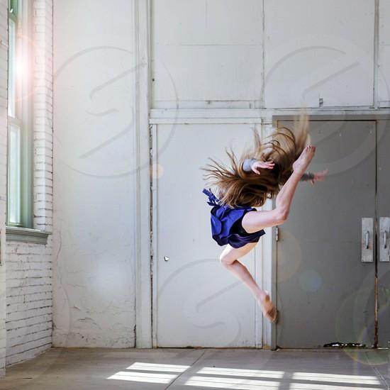 Modern dancer photo