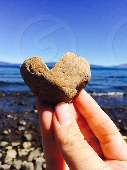Lake Tahoe Heart Rocks photo
