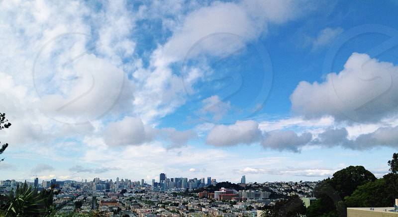 Oh look Its the beautiful sky over San Francisco.  photo