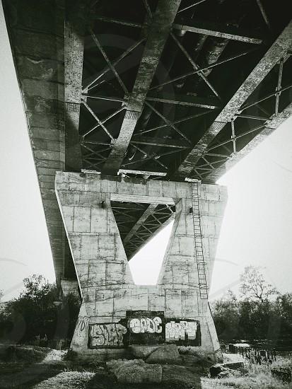 Under the bridge... photo