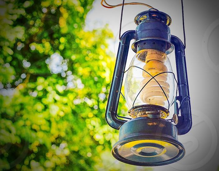 Modern lantern  photo