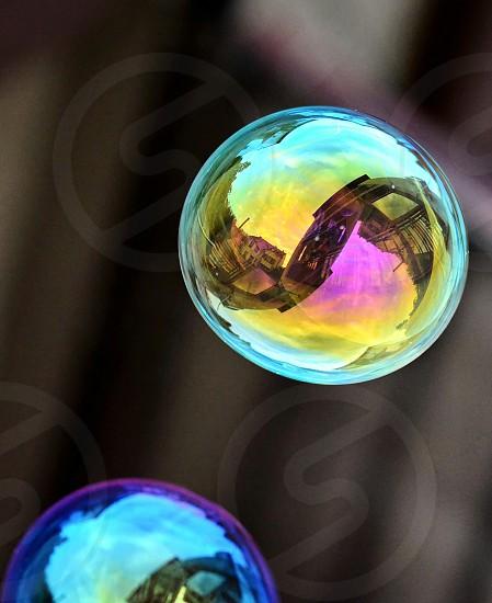 Vibrantsoap baloons photo