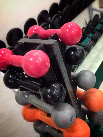 pink exercising tool photo