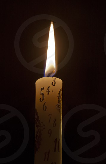 Advent candle photo