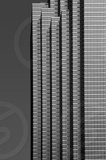 Dallas downtown city mirror skyscraper buildings urban landscape photo