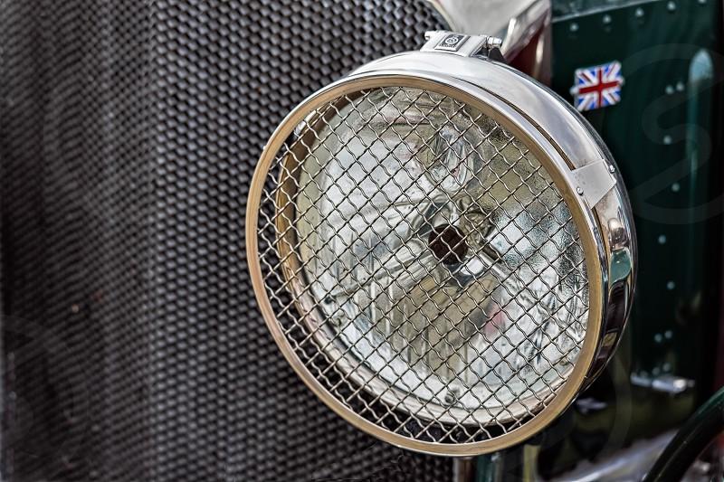 Old Bentley Headlamp photo