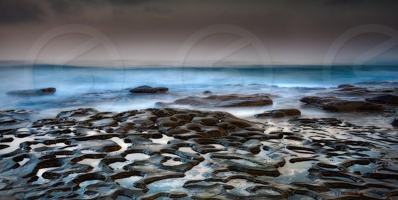 Dawn on the reef photo