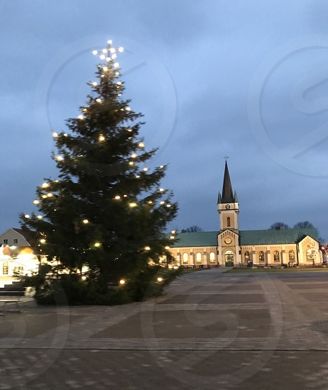 Sweden Christmas Church photo