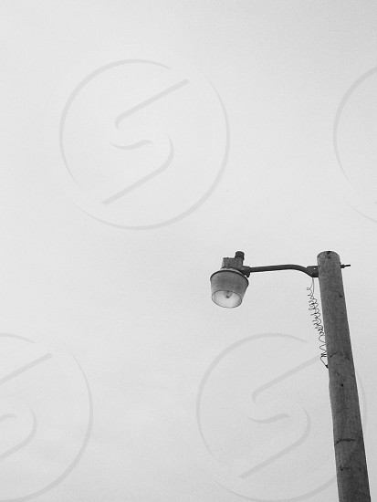 gray concrete street light photo
