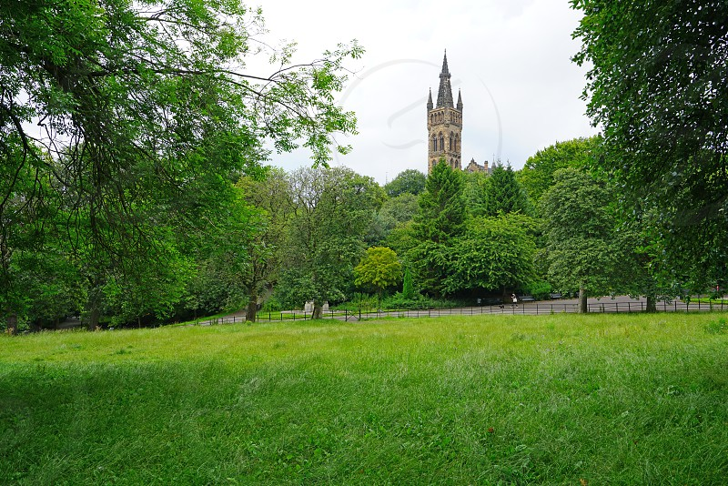 Kelvingrove Park - Glasgow Scotland photo