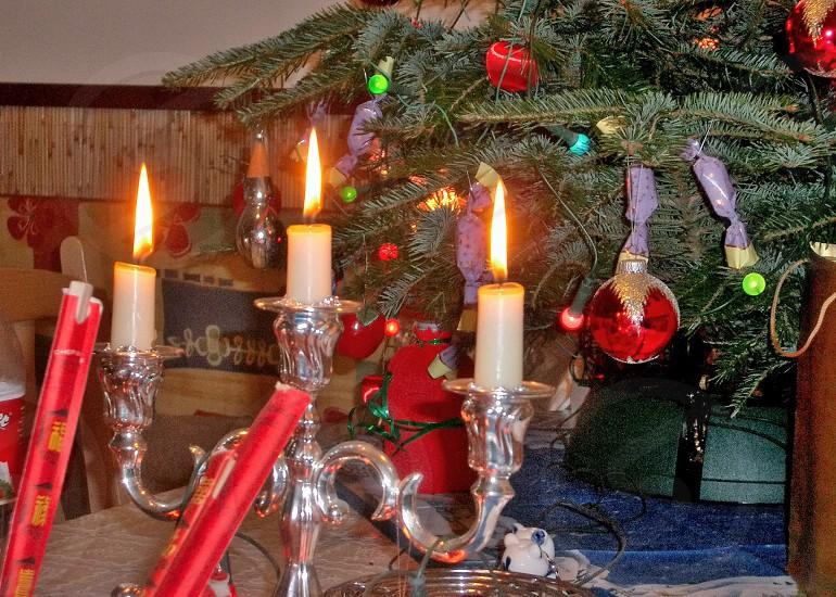 Holiday of gifting. photo