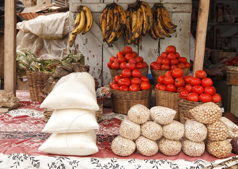 Farm to Table - African market photo