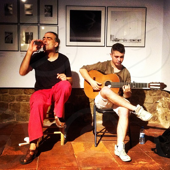 Flamenco Guitar - Barcelona Spain photo