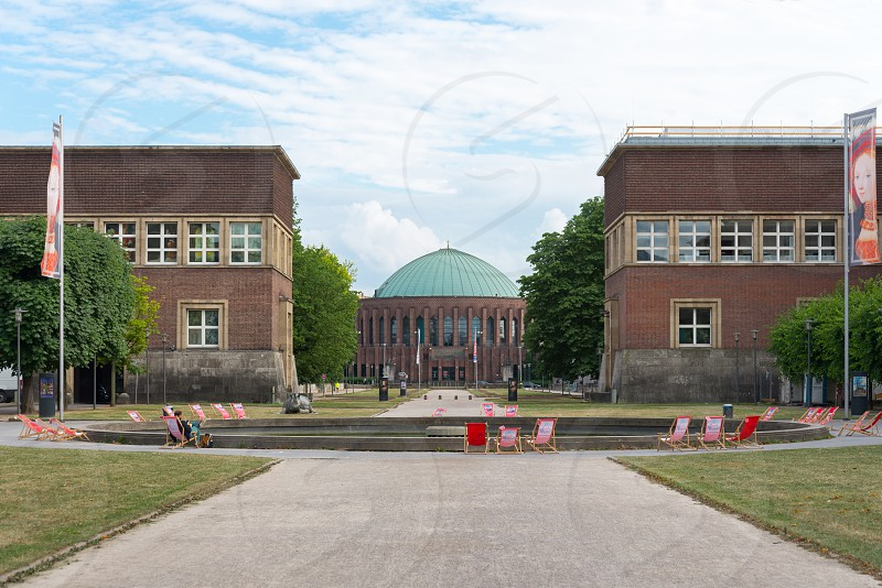 Museum Kunstpalast in Düsseldorf Germany photo