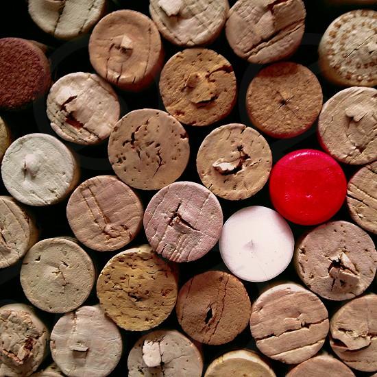 Pop of Color corks photo