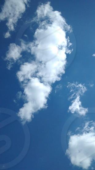 Beautiful clouds  photo