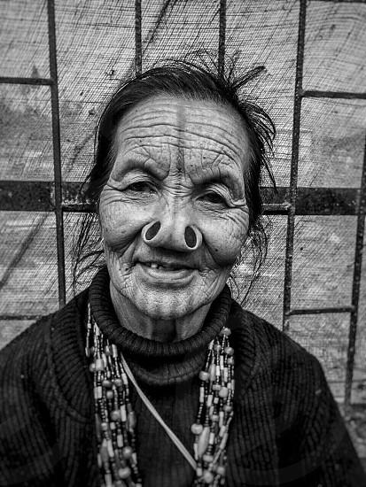 women culture tribal tribe india blackandwhite monochrome portrait portraiture photo