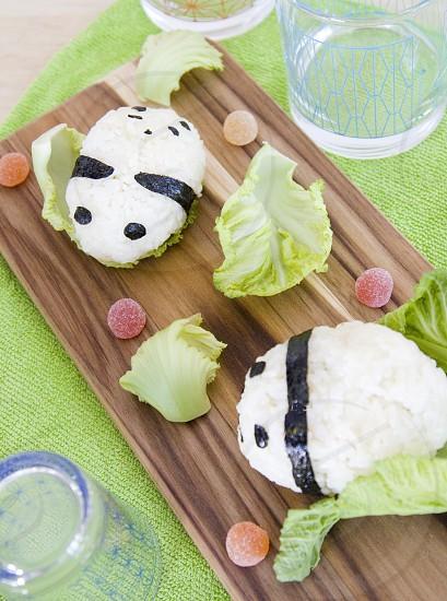 Panda Rice Balls/Onigiri (by Me) photo