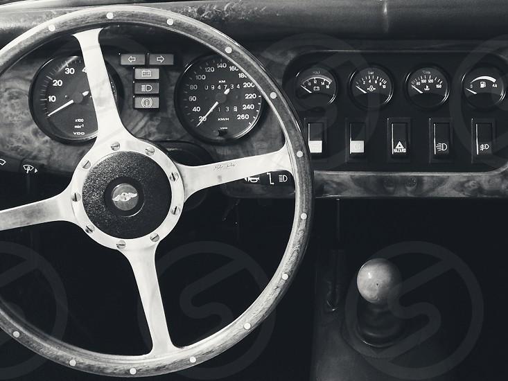 Maserati Steering Wheel Dashboard photo