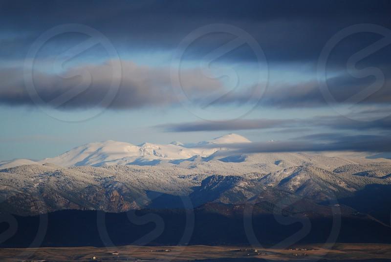 Mountains to plains. photo