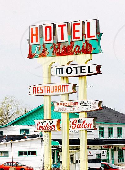 'Hotel Relais' Quebec Canada photo