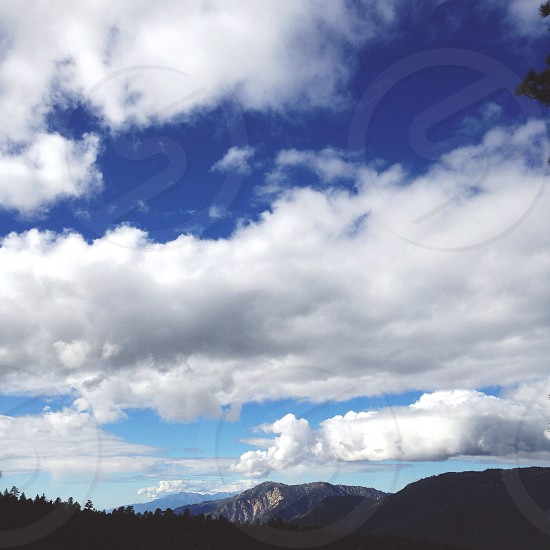 white cloud photo