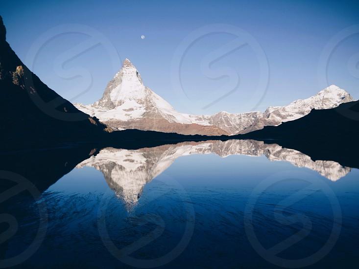 Mountain Matterhorn Switzerland sunrise photo