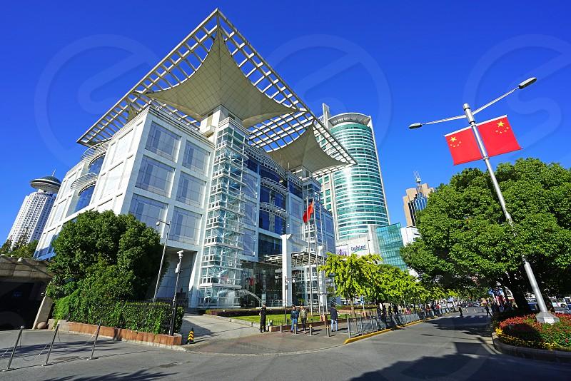 The Shanghai Urban Planning Exhibition Center in Shanghai China photo