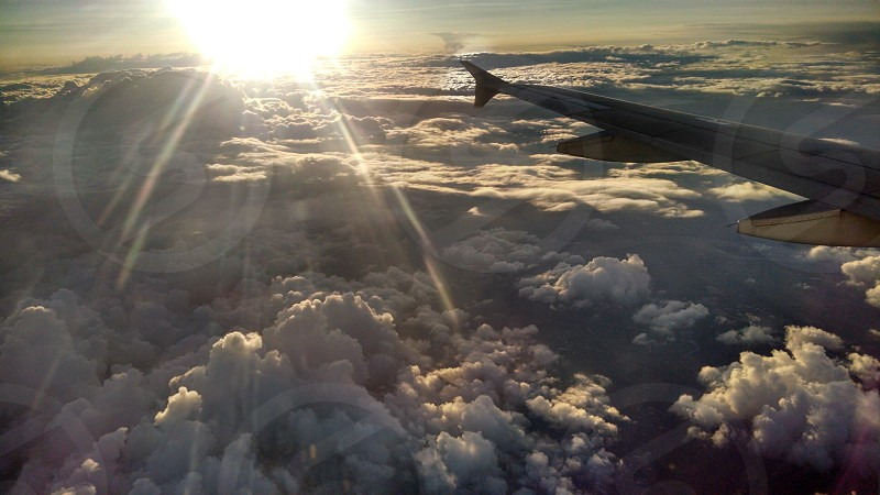 A view from above the clouds photo