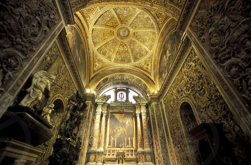 The church of St Philip in the Town of Zebbug on Malta in Europe photo