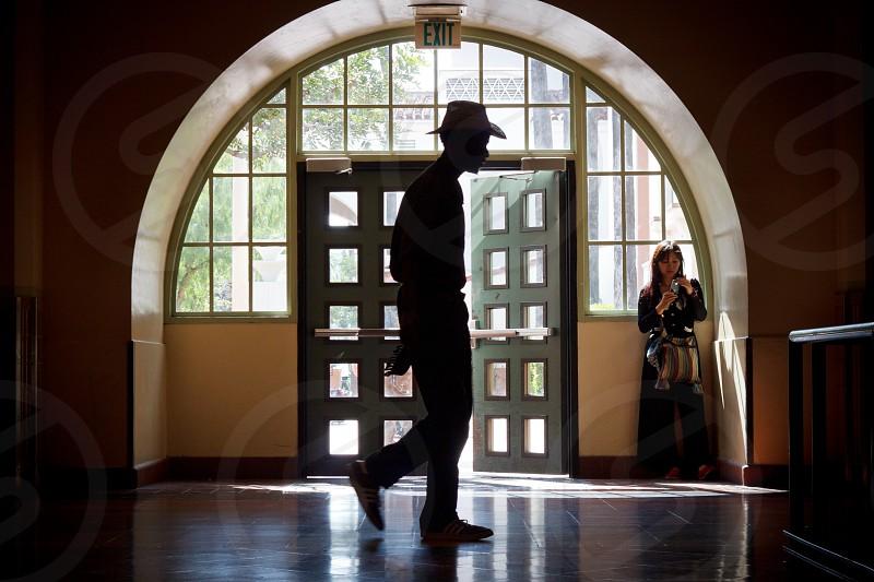 men's black hat photo