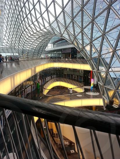 Incredible design of My Zeil mall in Frankfurt photo