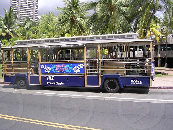 Bus in Hawaii ハワイのバス photo