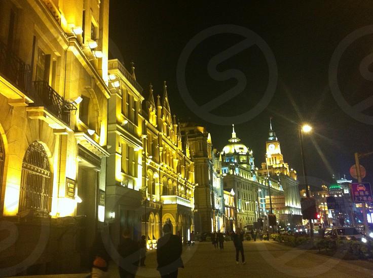 Shanghai Bund.  photo