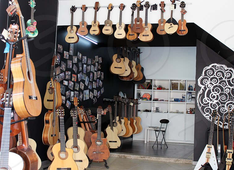 Portugal summer guitar fado music instruments photo