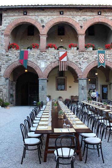 Medieval castle photo