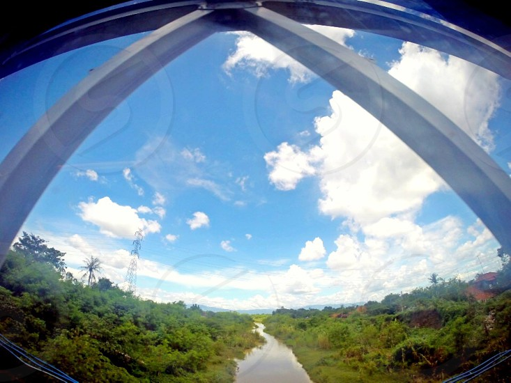 Over the rail bridge - Indonesia photo