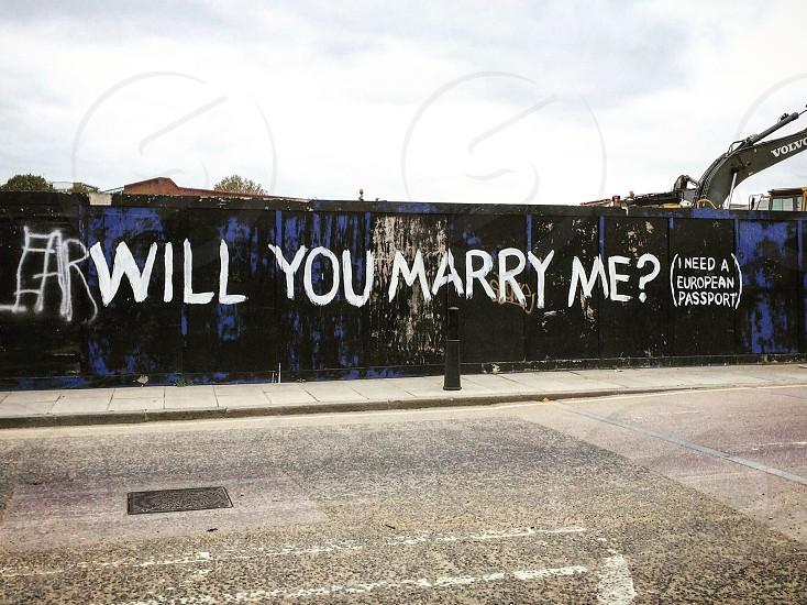 Graffiti humorous London urban arty  photo